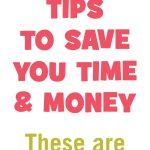 Food Freezing Tips To Save You Time & Money. These are a must do!