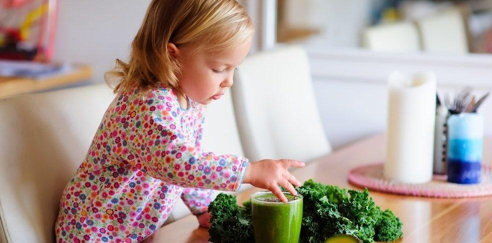 How to Get Kids to Eat Healthier Series: Kids Eating Kale