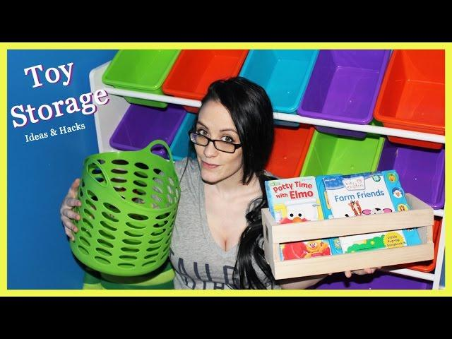 Top Hacks for Toy Organization and Storage To Save You Space and Your Sanity