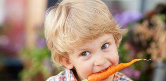 How to Get Kids to Eat Healthier Series: Kids Eating Carrots