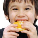 How to Get Kids to Eat Healthier Series: Kids Eating Oranges