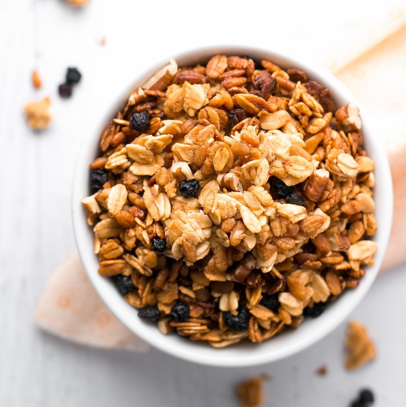 5-Ingredient Slow Cooker Granola Recipe