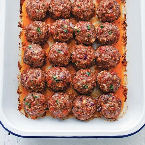 Chorizo Meatballs Recipe
