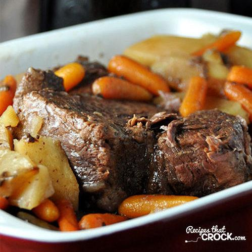 Crock Pot Roast Recipe