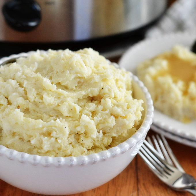 Crockpot Creamy Mashed Potatoes Recipe