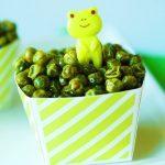 Crunchy Roasted Green Peas Recipe