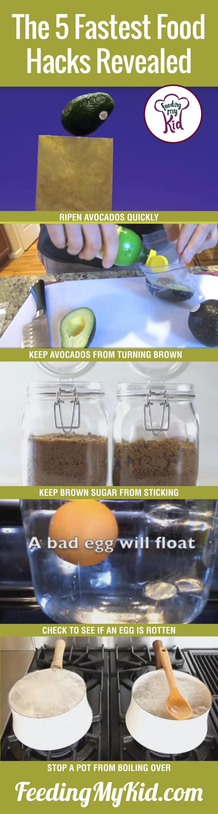 Save time, money, and your sanity with these easy food hacks everyone should know.