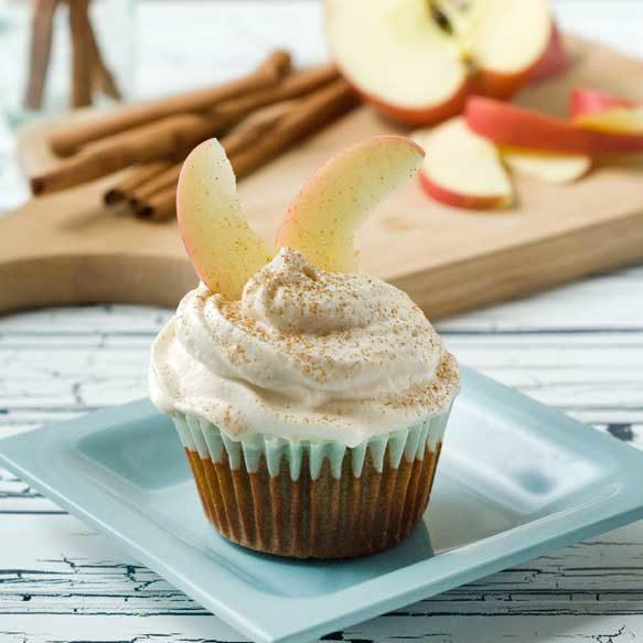 Gluten Free Cinnamon Apple Cupcakes Recipe