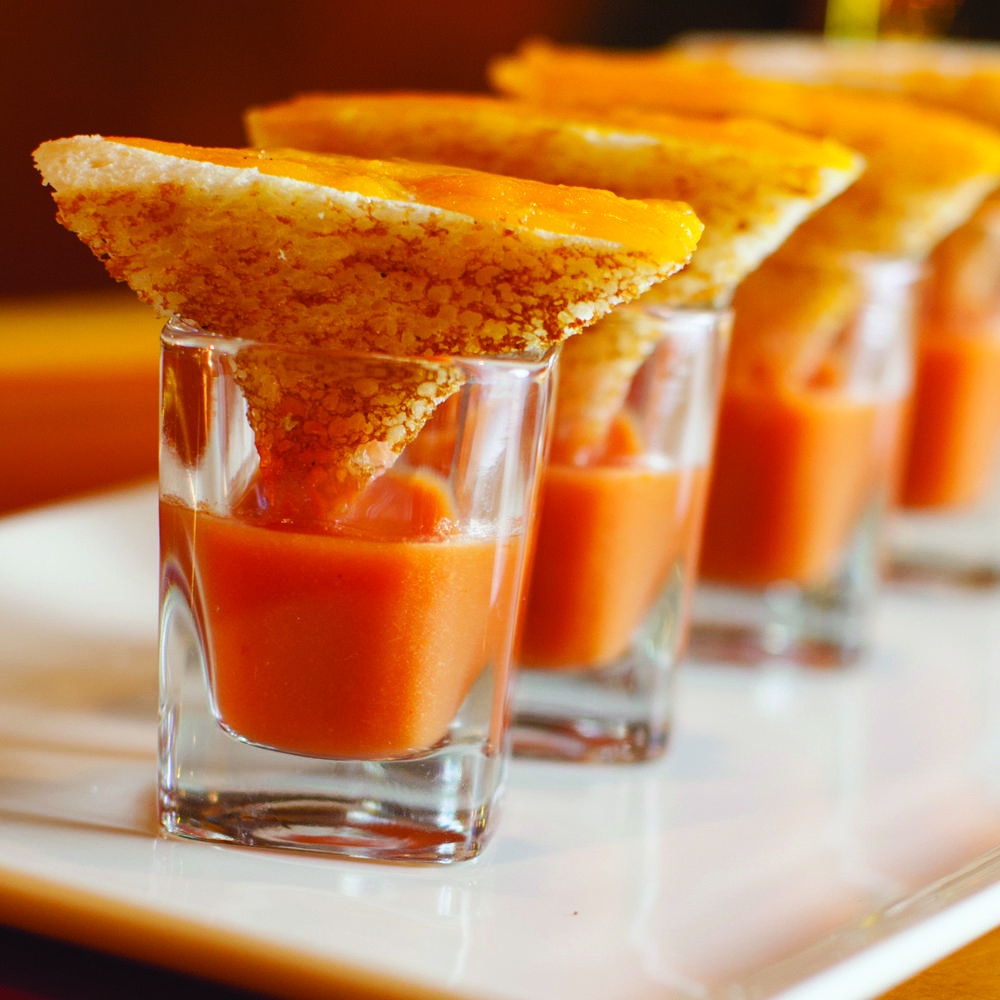 Grilled Cheese Shooters Recipe