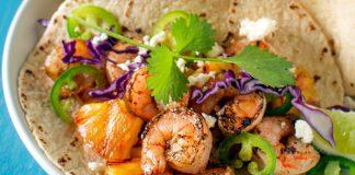 Grilled Shrimp and Pineapple Tacos Recipe