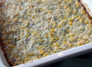 Healthy Corn Casserole with Superfoods