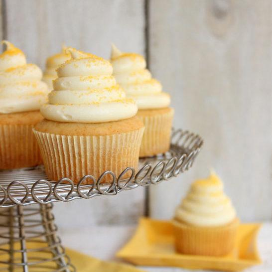 Honey Cupcakes With Honey Cream Cheese Recipe