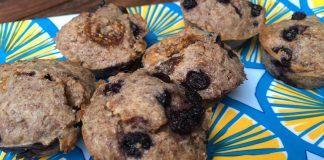 Lemon Blueberry Yogurt Healthy Muffins