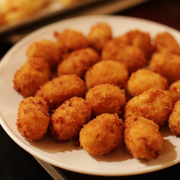 Oven Fried Spanish Croquettes Recipe