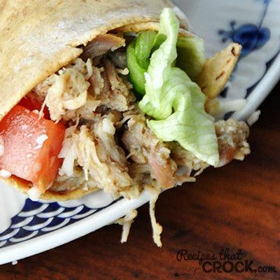 Ranch Chicken Wraps Recipe