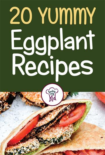 Try these amazing eggplant recipes! From eggplant lasagna to an eggplant dip. These recipes are perfect for lunch and dinner! #FeedingMyKid #eggplantrecipes #eggplant #recipes