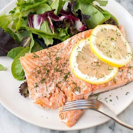 Salmon In The Slow Cooker Recipe