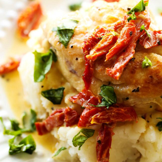 Slow Cooker Creamy Sun Dried Tomato Chicken Recipe
