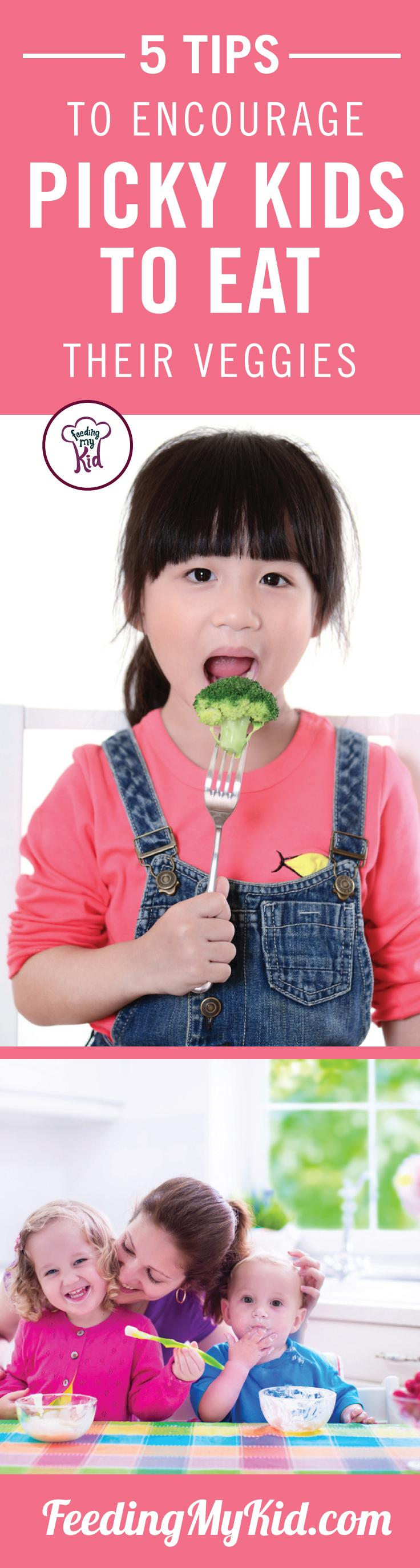 Feeding expert Kristen Yarker gives parents five tips to stave off picky eating. Find out how you can turn your picky eater into an adventurous foodie!
