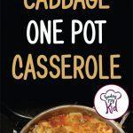 Turkey Cabbage One Pot short