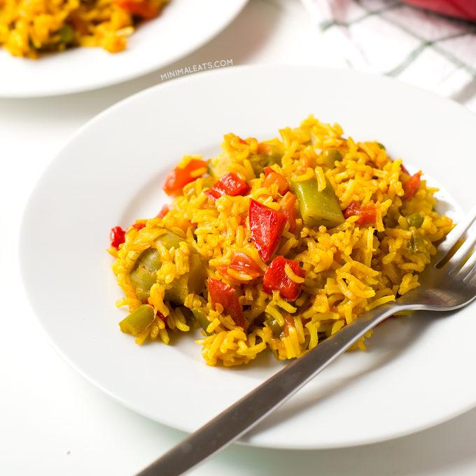 Vegan Spanish Paella Recipe