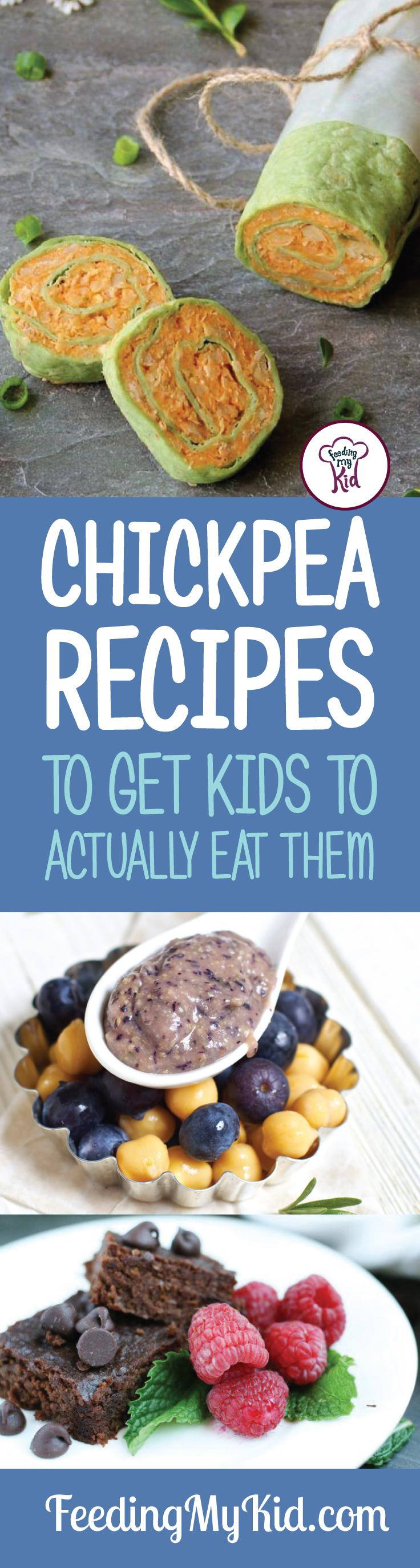 We decided to take you out of your chickpea comfort zone and help you try some new chickpea recipes! Feeding My Kid is a filled with all the information you need about how to raise your kids, from healthy tips to nutritious recipes. #FeedingMyKid #chickpeas #chickpearecipes #recipes