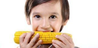 How to Get Kids to Eat Healthier Series: Kids Eating Corn
