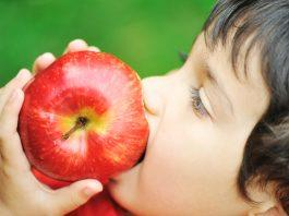Fruits for kids! Teach your kids how to eat more veggies and fruits by having them watch other children eating veggies and fruits.
