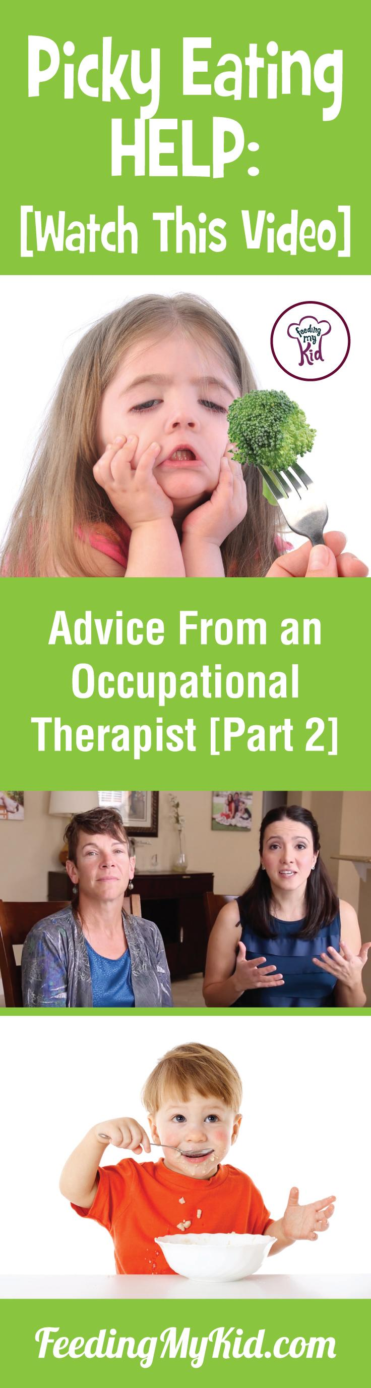 A conversation with an occupational therapist. Learn everything you need to know about occupational therapy for children. Feeding My Kid is a filled with all the information you need about how to raise your kids, from healthy tips to nutritious recipes. #FeedingMyKid #OccupationalTherapist #advice #kidshealth