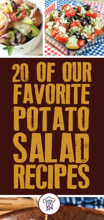 Try these amazing potato salad recipes! They're perfect for any meal and any event! These amazing side dishes will make you want more! #FeedingMyKid #recipes #sidedishes #potatorecipes