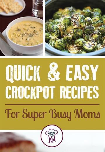 Check out these quick crockpot meals that are easy to make and perfect for the parent on the good. These easy crockpot meals will please the whole family. #FeedingMyKid #Recipes #Crockpot #Meals
