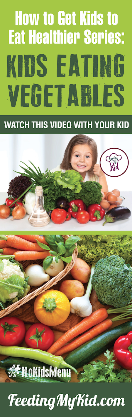This is a must share! Vegetables for kids! Want your kids to eat vegetables? Teach your kids how to eat more vegetables and fruits. Watch these videos with your kids of children eating veggies and fruits and get your kids to eat veggies and fruits. Find out how it works here. Feeding My Kid is a filled with all the information you need about how to raise your kids, from healthy tips to nutritious recipes. #pickyeating #getkidstoeat #vegetables #nokidsmenu