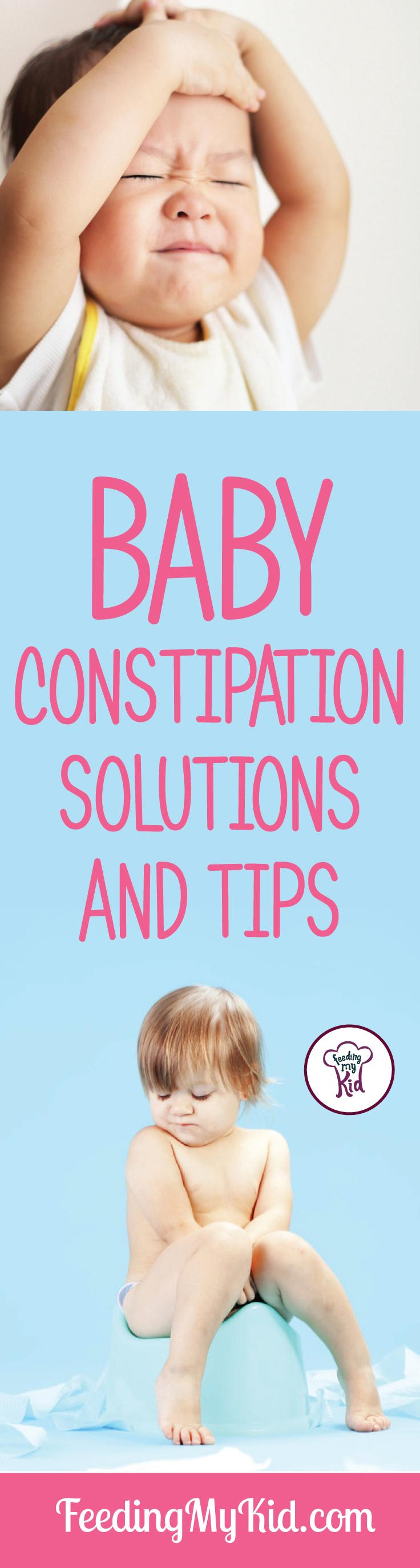 Try these great baby constipation tips. Learn how to relieve the symptoms of constipation for your baby. He'll be better in no time!
