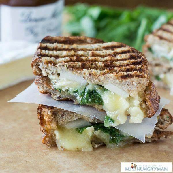 Brie, Fig And Pear Panini Recipe