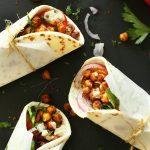 Chickpea Shawarma Sandwich Recipe