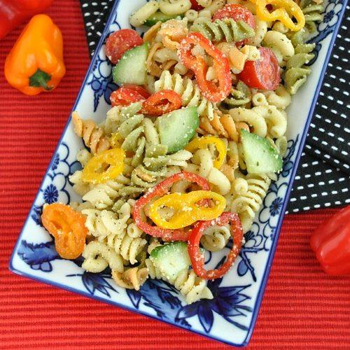 Confetti Pasta Salad Recipe