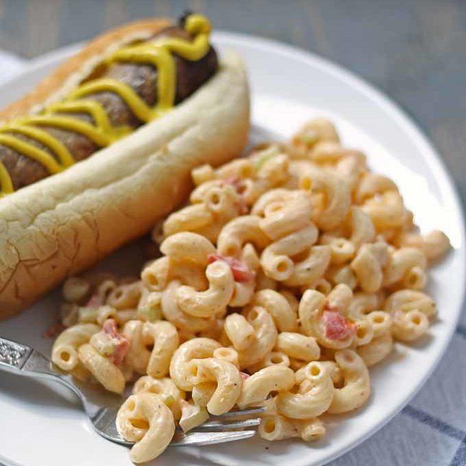 Deli Style Macaroni Salad Recipe