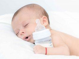 Do Babies Sleep Better with Formula? Find out if formula will help your baby sleep longer at night.