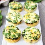 Egg Muffins With Sausage , Spinach And Cheese Recipe