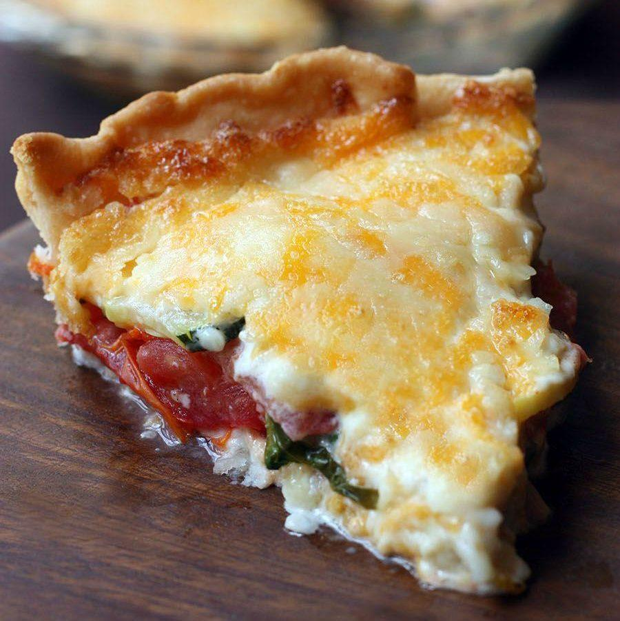 Garden Vegetable Pie Recipe