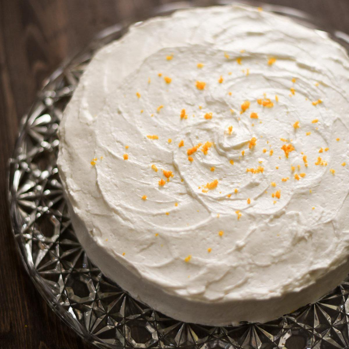 Gluten-Free Lemon Cake with Lemon Frosting Recipe