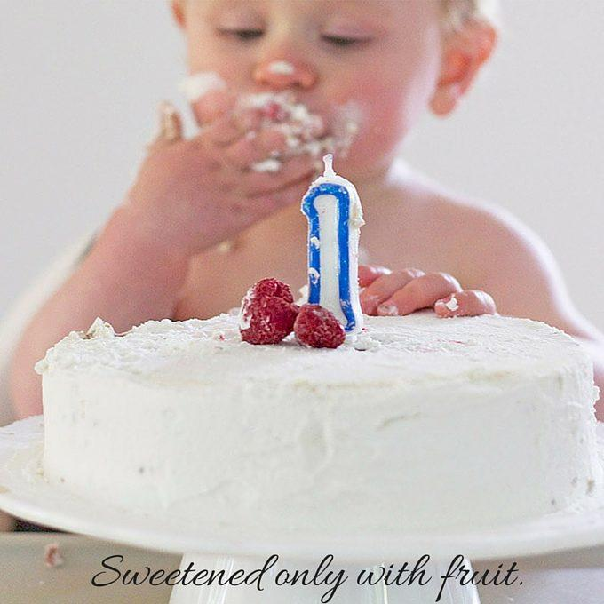 Healthy First Birthday Cake Recipe