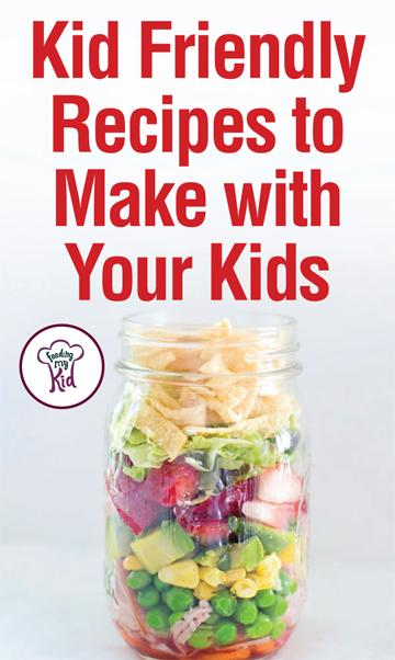 Try these kid-friendly recipes. They are great tasting and fun to make. Get kids in the kitchen by making these recipes together!