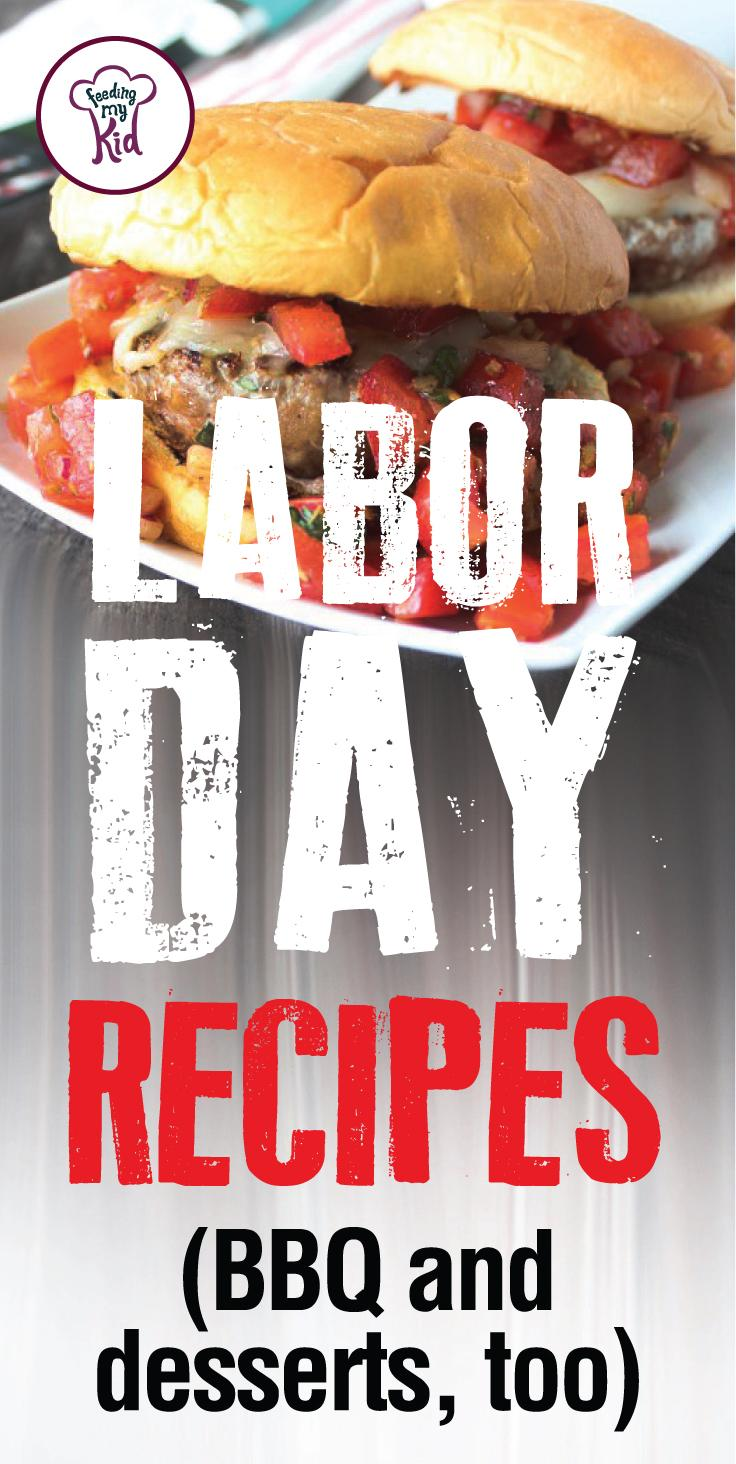Labor Day is almost here! Time to celebrate! Try these amazing Labor Day recipes that are perfect for the holiday. #FeedingMyKid #summerrecipes #LaborDay #BBQ #holidayrecipes