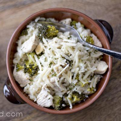 One Pan Lime Chicken And Broccoli Rice Recipe