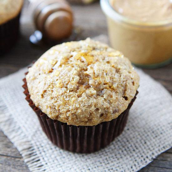Peanut Butter, Banana And Honey Muffins Recipe