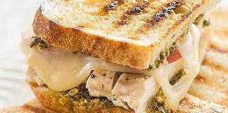 Pesto Chicken Sandwich On Sourdough Recipe