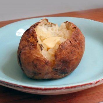Pressure Cooked Baked Potatoes Recipe