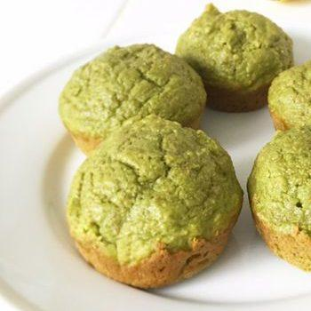 Spinach And Banana Healthy Breakfast Muffin