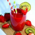 Strawberry and Kiwi Smoothie Recipe